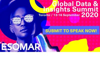 ESOMAR Congress 2020: Global Insights Data Summit seeks speakers
