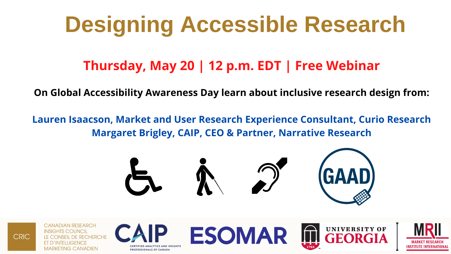 Accessible Research Webinar Image