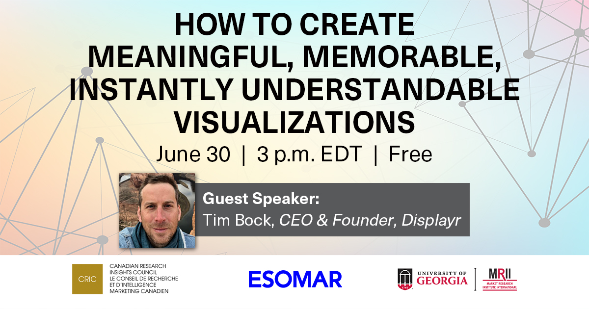 How to Create Meaningful, Memorable, Instantly Understandable Visualization