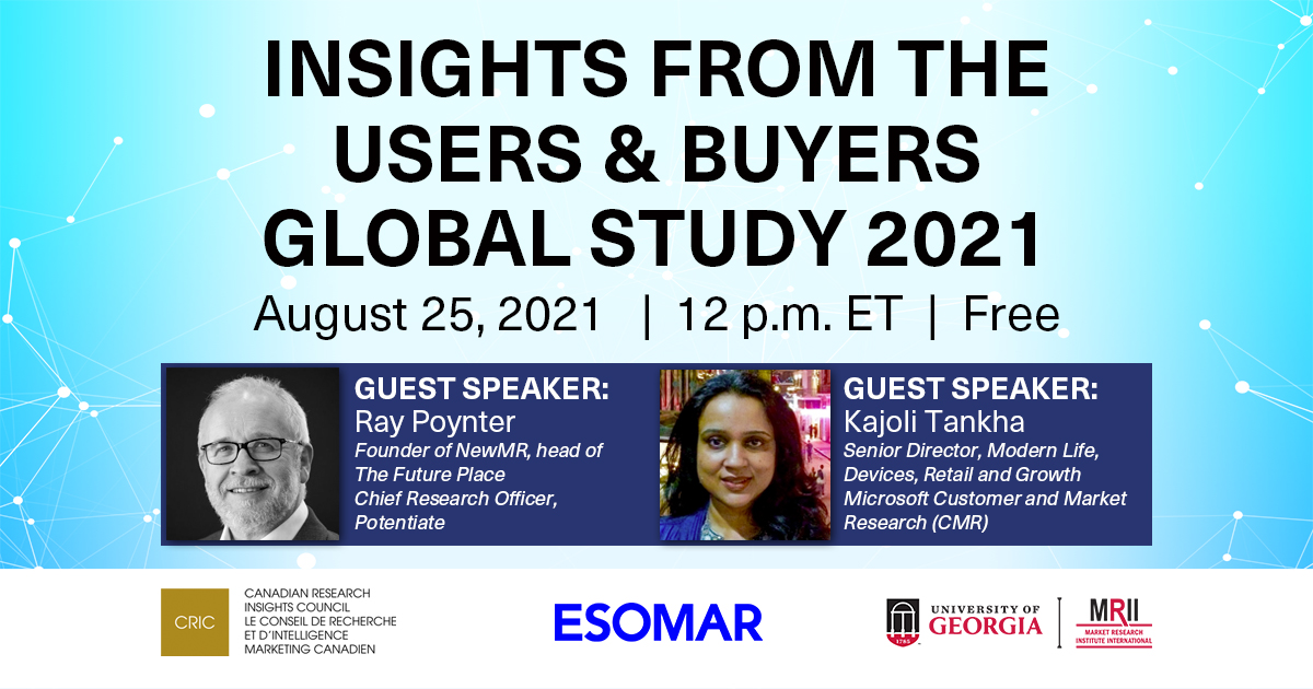 Insights from the Users & Buyers Global Study 2021